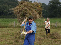 Projekt Feuchtwiesenpflege