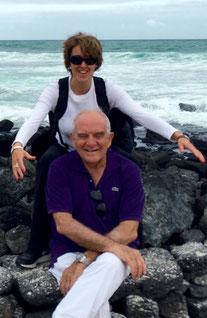 Fanny Douvere and CNE, Santa Cruz Island, Galapagos, Ecuador, 22 July 2015