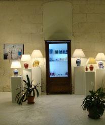 Pascale Brigand. Salle d'exposition de l'Atelier Pascale B.