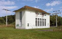 Strom-Schaltstation bei Dorchheim