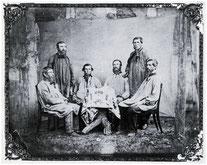 Bergleute der Grube Ludwig, um 1875