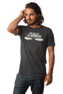 "BE LOVE – SHIRT ""PEACE WARRIOR T-SHIRT"" THUNDER"