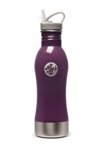 "MANDUKA - TRINKFLASCHE  "" STAINLESS  STEEL WATER BOTTLE – SMOKEY QUARZ"""