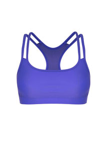 "DHARMABUMS - BH TOP ""Y-POWER SPORTS BRA - AZURE"""