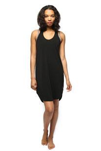 "ELECTRIC & ROSE – DRESS ""CALIFORNIA RAZOR BACK DRESS"" BLACK"