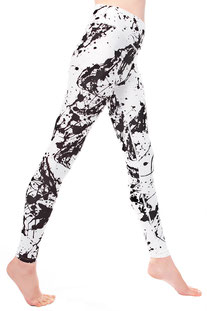 "I AM VIBES – LEGGINGS ""WHITE EXPRESSION"""