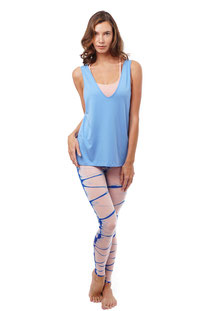 "NUX – TANK TOP ""FLEX TANK"" SKY BLUE"
