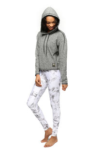 "ELECTRIC & ROSE – HOODIE ""BREEZE"" HEATHER GREY"