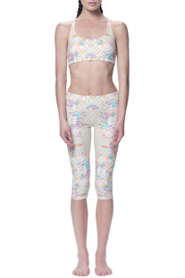 "MARA HOFFMAN - 3/4 LEGGINGS ""EOS STONE CROPPED LEGGING"""