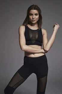 "VARLEY – BH TOP ""TERRI SPORTS BRA"" BLACK"