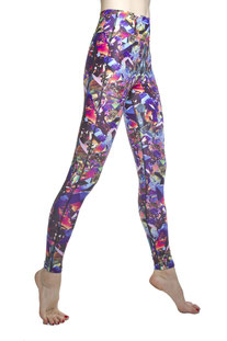 "I AM VIBES – LEGGINGS ""FLAME QUARZ"""