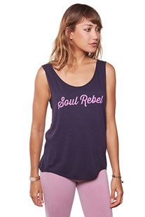 "BE LOVE – TANK TOP ""SOUL REBEL FESTIVAL TANK"" AMETHIST"
