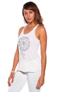 "BE LOVE – TANK TOP ""SOUL FORCE SHIELD RACER TANK"" MOON"