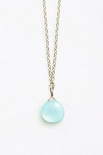 "WANDERLUSTLIFE - HALSKETTE ""LONG LINES  SEA GLASS CHALCEDONY"""