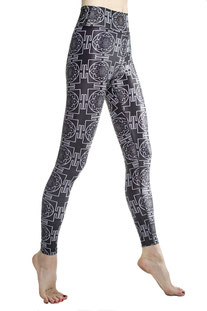 "I AM VIBES – LEGGINGS ""MANDALA"""