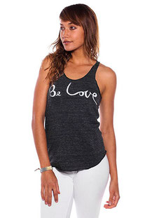 "BE LOVE – TANK TOP ""BE LOVE RACER TANK"" ECO BLACK"