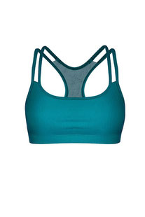 "DHARMABUMS - BH TOP ""Y-POWER SPORTS BRA - PEACOCK"""