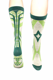 "SYMBOLIC SOCKS – YOGA SOCKEN ""TREE OF LIFE"" – CREW LENGHT"