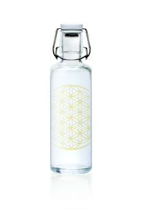 "SOULBOTTLE – TRINKFLASHE 0,6L ""FLOWER OF LIFE"""