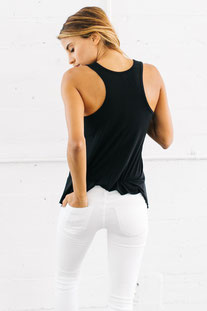 "JOAH BROWN – TANK TOP ""PERFECT SHAPE"" BLACK"