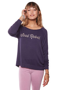 "BE LOVE – LONGSLEEVE ""SOUL REBEL"" AMETHIST"