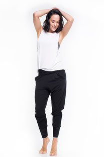 """DHARMABUMS - SWEATPANTS """"BLACK RELAX"""""""
