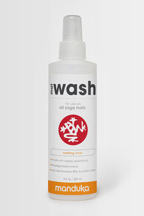 "MANDUKA YOGAMATTEN-REINIGUNGSSPRAY - CITRUS ""MAT WASH SPRAY - CITRUS"" 8 oz. ( 237 ml)"