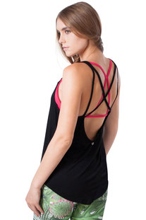 "JALA – TANK TOP ""FREE BLACK"""