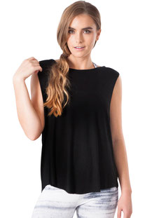 "JALA – TANK TOP "" SARI BLACK"""