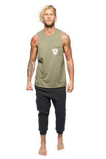"ELECTRIC & ROSE – TANK TOP ""FREY TANK"" ARMY"