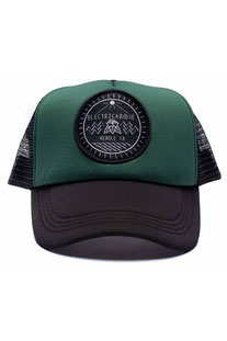"ELECTRIC & ROSE – HAT ""PATCH LOGO"" SAGE / BLACK"