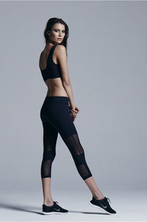 "VARLEY - CAPRIS ""AILEEN BLACK TIGHT"""