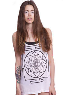 "I AM VIBES – TANK TOP  ""MANDALA TANK"""