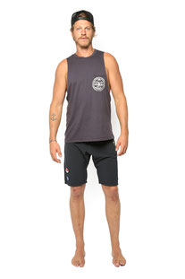 "ELECTRIC & ROSE – SHORTS ""WAVECREST BOARDSHORTS"" BLACK"