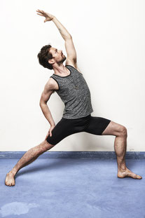 "OHMME – TANK TOP ""VAJRA YOGA VEST FOR MEN"" GREY"