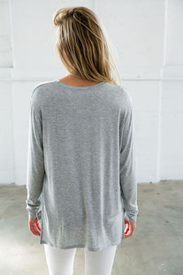 "JOAH BROWN – LONG SLEEVE ""ESSENTIAL CREW"" GREY"