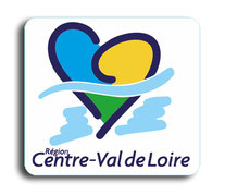 STICKER PLAQUE IMMATRICULATION REGION CENTRE VAL DE LOIRE