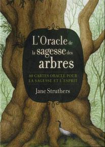 L'oracle de la sagesse des arbres, Pierres de Lumière, tarots, lithothérpie, bien-être, ésotérisme