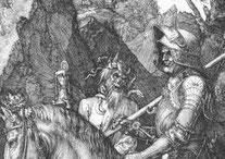 Stundenglas bei Dürer
