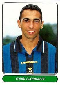 N°062 - Youri DJORKAEFF (1995-96, PSG > 1996-97, Inter Milan, ITA)