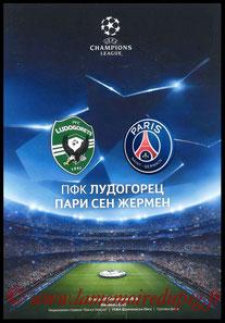 Programme  Ludogorets-PSG  2016-17