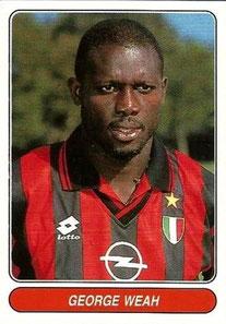N°118 - George WEAH (1992-95, PSG > 1996-97, Milan AC, ITA)