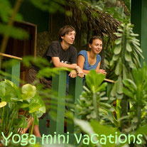 Combine a holiday with yoga. Stay in one of the bungalows and rooms in the middle of nature. Click here to read more.