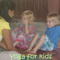 Yoga for kids. For kids from 3 years and up. Click here to read more.