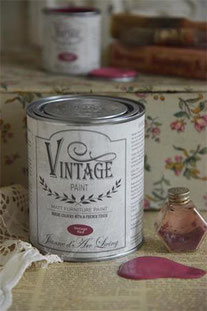 Vintage Paint de Jeanne d'Arc living - couleur Vintage red