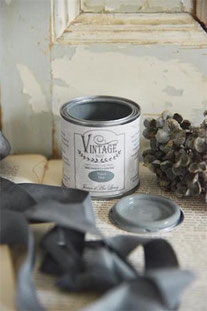Vintage Paint de Jeanne d'Arc living - couleur Petrol blue