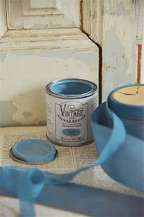 Vintage Paint de Jeanne d'Arc living - couleur Dusty blue