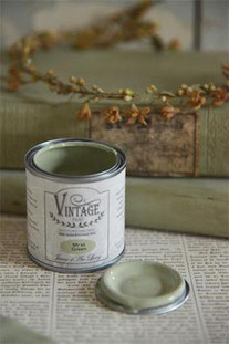 Vintage Paint de Jeanne d'Arc living - couleur Moss green