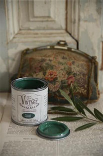 Vintage Paint de Jeanne d'Arc living - couleur Forest green