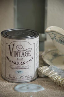 Vintage Paint de Jeanne d'Arc living - couleur Powder blue
